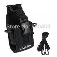2Pcs Nylon Two Way Radio Case Holder  Multi-function MSC-20A For BaoFeng UV-5R Series gt-3 WouXun Walkie Talkie