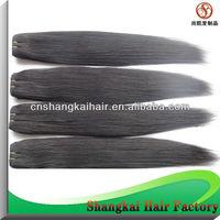 Silk straight hair Peruvian straight hair brazilian straight remy virgin human hair Free shipping 50g/pcs 4pcs a lot