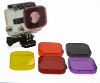 Go Pro HD Hero 3 PC Under Sea for gopro Filter Cover Fit Go pro HD Hero3 only Camera Filters Drop Shipping