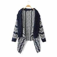 2014 autumn new European style bubble collar bat sleeve sweater coat