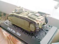 IXO OEM-1: 72 armored tanks - Alloy model - France Charles -CHAR b1 bis 1944- specials --- Free Shipping