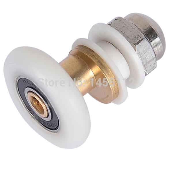 New Shower Sliding Door Roller Runner Wheel 27mm Wheel Diameter For 6-8mm Glass(China (Mainland))