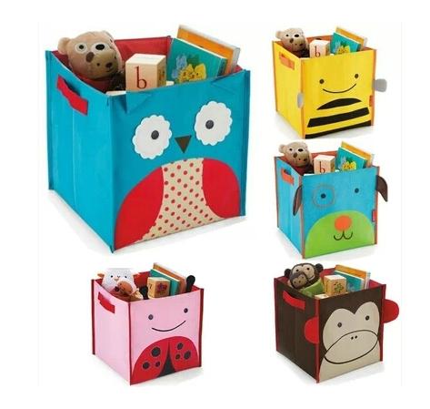 Animal Design Kids Toy Storage Boxes Cartoon Foldable Hamper Children Boys Girls Toys Clothing Organization Free Drop Shipping(China (Mainland))