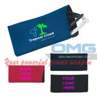 Free Shipping!Custom Imprint Real Neoprene Eyeglass Sunglass Case Pouch,Eyewear Case,Optical Bag