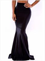 FREE SHIPPING 2014 New Women Casual High Waist Bodycon Mermaid Floor-length Skirt Size M/L NA71068 Sexy Maxi Bodycon Skirts