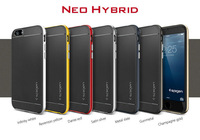 """50x Newest 4.7"""" spigen sgp durable slim armor for apple iphone 6 4.7 inch case Neo Hybrid For iphone6 phone cases DHL Free"""