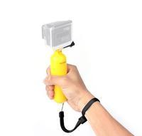2014 New arrival Hot sell Gopro Bobber Floating Handheld Stick Floating Grip w/ Wrist strap for GoPro Hero3+/3-2-1 SJ4000