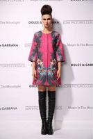 New 2014 women ladies autumn winter fashion trench coat vintage print Windbreaker high street overcoat outwear 4XL D1691