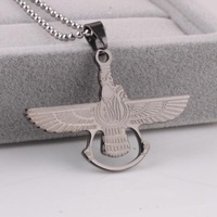 Black Fly Eagle Titanium 316L Stainless Steel pendant necklaces for men women wholesale Free shipping