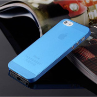 1PC Ultra-Thin 0.3MM Only 5g Weight Cover/Case For Apple Iphone 5 5s Cases For iPhone5 iPhone5S Moblie Phone Protection Shell