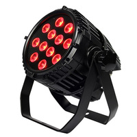 Free shipping 12x15W RGBAW 5 in 1 LED Par Can