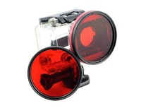 2014 Free shipping Go3 Accessories Professional Diving 58mm Red Filter Lens for Gopro Hero3