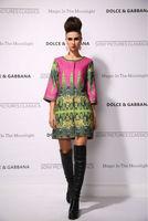 New 2014 women ladies autumn winter fashion trench coat vintage print Windbreaker high street overcoat outwear 4XL D1696