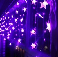 3.5M Ice led string light New year indoor lighting garland star modeling led luminarias christmas decoration