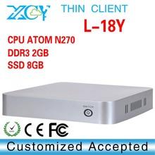 Hot sales XCY L 18Y desktop computer N270 optiplex computer 1 6GHZ atom mini pcs