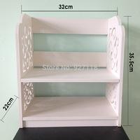 Factory Direct DIY waterproof hollow green ideas home desktop bookshelf shelving support a generation to pay