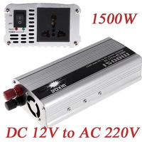 1500W WATT 12V toC 220V Portable Car Inverter Charger Voltage Converter Transformer K1241
