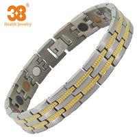 Woman Fitness Zircon Magnet Bracelet