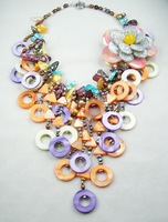 F1839HOT ON SALE!!!! Fashion african wedding new design for woman girl necklace   jewelry