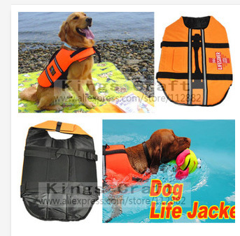 High Quality Dog Life Jacket , Pet Cat Life Vest Outward Hound Saver, Swimming Preserver Free Shipping(China (Mainland))