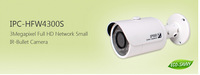Dahua IPC-HFW4300S 1080P bullet camera 3MP IR dahua ip camera cctv camera IPC-HFW4300S ,free DHL shipping