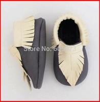 Toddler Children 100% Leather Shoe Baby Girl Boy Slip-On AntiSkid First Walker Shoes Prewalker Bowknot Tassels Soft-Soled Shoes