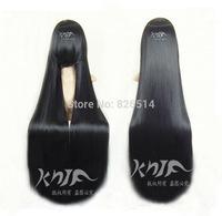 Free Shipping Black Straight Jigoku Shoujo Mioyosuka Cosplay Wig Full Wigs Heat Resistant Super Long