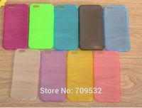 "Free Ship 10pcs/lot tpu case matting design for iPhone 6 4.7"" Tpu Case"