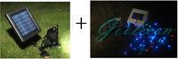 Gololecon 3V 5w  60LED Solar powered Spotlight Floodlight for outdoor Garden Landscape Decor  free solar 10m  100 led change