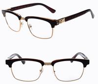 2014 Fashion Brand vintage eyeglasses Heart women optical eyewear mens myopia computer glasses frame Gafas Oculos de sol G305
