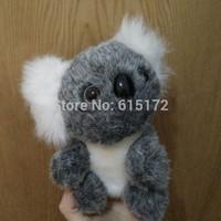 FREE SHIPPING 19 cm Birthday Gift Kawaii Cute Doll Small Koala Plush Toy Soft Bear Stuffed Animal For Children brinquedo menina