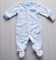 Carters fleece newborn winter baby coats baby rompers infant bodysuit baby fleece clothing size in 3/6/9M Free shipping