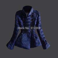 2014 New Fashion Ladies Down Short Design Coat Winter Jacket Coat Women Outerwear Blue White Black Down Coat Women Down Parka