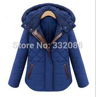 2014 HOT Sale European Design  Warm Winter Coat Women's Fashion Coats Women outerwear Rejular Jacket