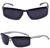 New Fashion Aluminum Magnesium Alloy Polarized Sunglasses Men Bike Sports Driving Brand sun glasses male Oculos De Sol G121
