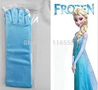 Kids Accessories Frozen Gloves Elsa Girl's Gloves for Evening Dress Ornaments Children Girls Cosplay Gloves