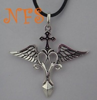 World of Warcraft necklace, the new force angel Raphael cross necklace, necklace European and American Hot Movie necklace