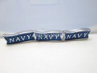 Navy Blue Silver Floating Charm Floating Locket charm Fits Living lockets 20pcs/lot Free shipping