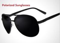 Wholesale 2014 New fashion polarized driving sunglasses Brand Mens Aviator Sport sun glasses Free shipping oculos de sol G303