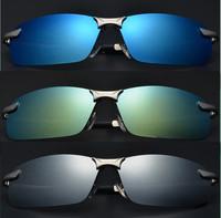 New Male Polarized driving glasses Classic coating sunglasses metal frame brand men fashion sports sun glasses oculo de sol G271