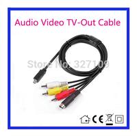 AV A/V Audio Video TV-Out Cable Cord Lead For Sony Camcorder Handycam DCR-SR45E SR46E SR62E SR65E SR80E SR82E SR85E SR90E SR100E