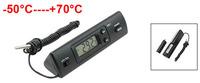 Black Plastic Shell Prism Shape Digital Display Thermometer Probe