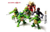 2014 new film version of the classic Teenage Mutant Ninja Turtles toys 6  BJ489