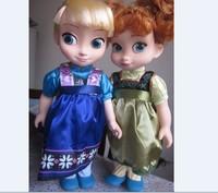 16 inch, Anna princess baby play baby/children calm doll/children's gift of birthday present, Christmas