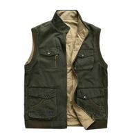 Free shipping plus big size 4XL 5XL 6XL 7XL 8XL 9XL 10XL tops mens Autumn winter down vest cotton brand military coat clothing