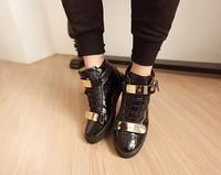 2014 autumn new men's glitter shoes man casual shoes men flats freeshipping