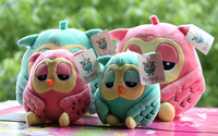 High Quality Cute Owl Plush Soft Toys Stuffed Animal Dolls Popular Baby Toy for Kids Girlfriend Gifts 2colors Hot sale!