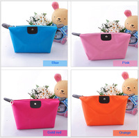 Korean version of the simple and stylish folding cosmetic bag