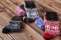 Wholesale Free Shipping 2014 new Fashion women cottons socks wool warm soft cashmere socks Hosiery girls women thick winter sock
