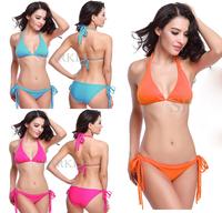 swimwear 2015 brand women triangl biquini,vintage tassel Lady's bathing suits, sexy thong bikini swimsuits with pad